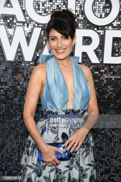 Lisa Edelstein attends the 26th Annual Screen ActorsGuild Awards at The Shrine Auditorium on January 19, 2020 in Los Angeles, California. 721336