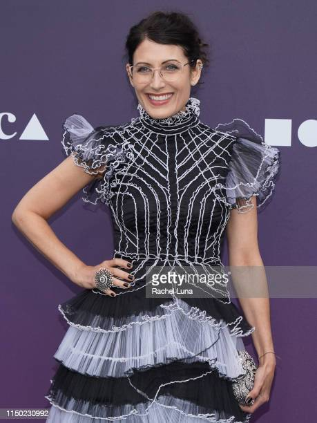Lisa Edelstein attends the MOCA Benefit 2019 at The Geffen Contemporary at MOCA on May 18 2019 in Los Angeles California