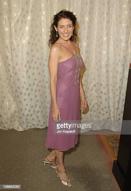 Lisa Edelstein during Fifth Annual Awards Season Diamond Fashion Show Preview Hosted by Diamond Information Center and In Style Magazine at Beverly...