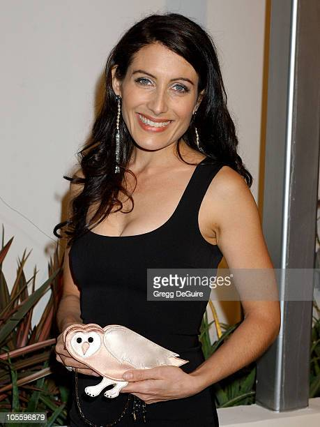 Lisa Edelstein during Fox TV 'White Hot Winter' Network Party at Meson G Restaurant in Los Angeles California United States