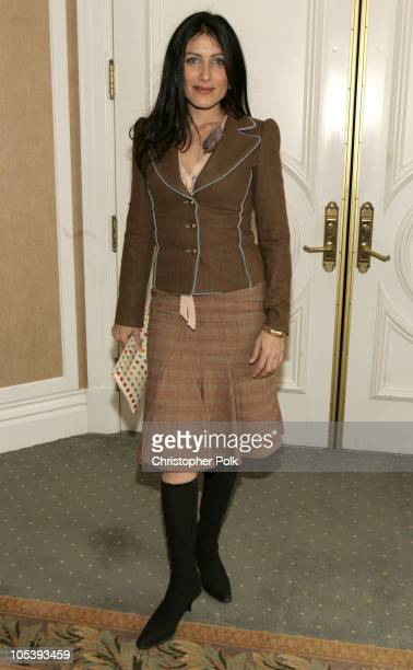 Lisa Edelstein during In Style Magazine and the DIC Host Luncheon to Celebrate the 2005 Awards Season at Beverly Hills Hotel in Beverly Hills...