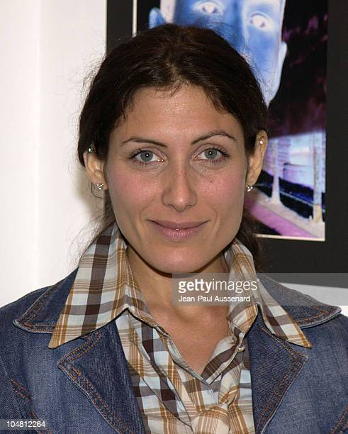 Lisa Edelstein during Leah Remini Hosts Artists Dean Karr Ed Freeman and Phil Gordon Photo Exhibit at CITY Gallery at CITY Gallery in Loa Angeles...