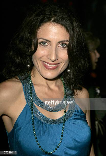 Lisa Edelstein during MercedesBenz Spring 2006 LA Fashion Week at Smashbox Studios Petro Zillia Inside at Century Studios in Culver City California...
