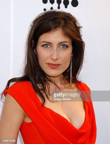 Lisa Edelstein during The 13th Annual GLAAD Media Awards Los Angeles Arrivals at Kodak Theatre in Hollywood California United States