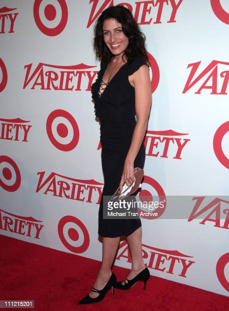 Lisa Edelstein during Variety Centennial Gala Arrivals at Beverly Hills Post Office in Beverly Hills California United States