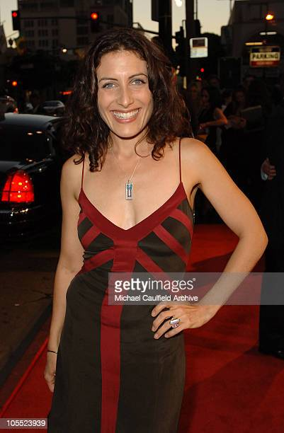 Lisa Edelstein during Warner Bros Pictures' 'North Country' Los Angeles Premiere Red Carpet at Grauman's Chinese Theatre in Los Angeles California...