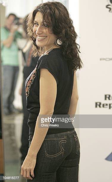Lisa Edelstein in Rock Republic during Rock Republic Gifting Lounge Day One in Culver City California United States
