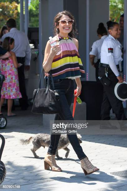 Lisa Edelstein is seen on August 16 2017 in Los Angeles California