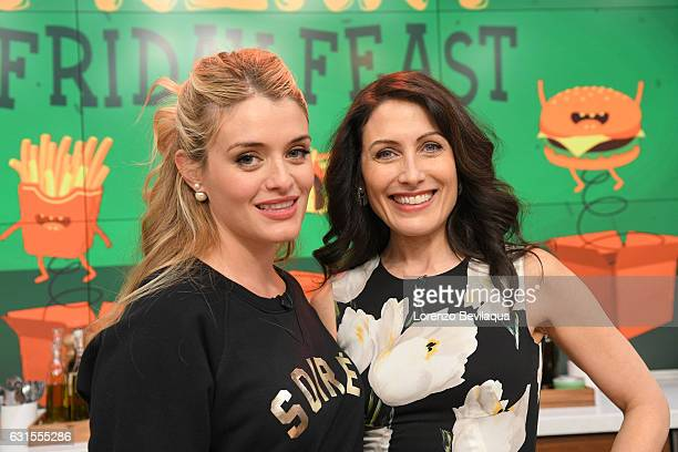 THE CHEW Lisa Edelstein is the guest on 'The Chew' Friday January 13 2017 'The Chew' airs MONDAY FRIDAY on the ABC Television Network EDELSTEIN