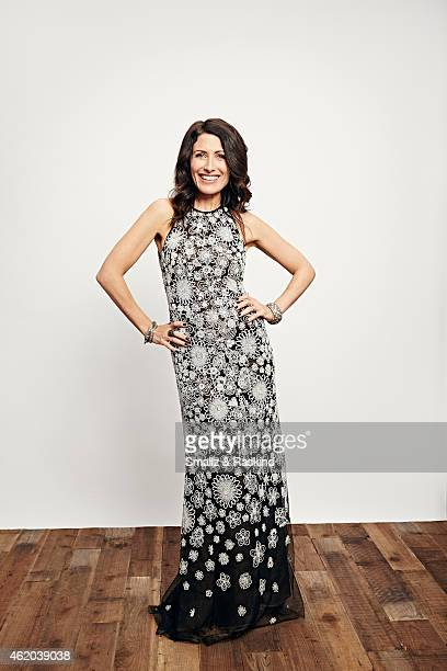 Lisa Edelstein poses during the The 41st Annual People's Choice Awards at Nokia Theatre LA Live on January 7 2015 in Los Angeles California