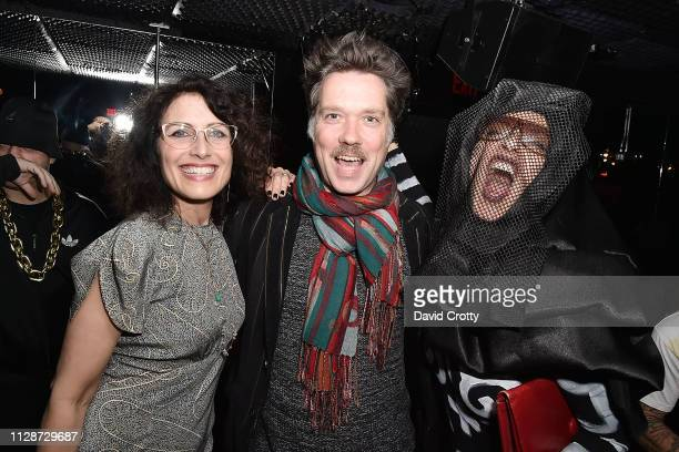 Lisa Edelstein Rufus Wainwright and Lola Glaudini attend The Standard Presents Bryan Rabin's 50th Birthday Party The Music Icon Bash at The Standard...