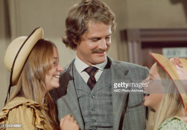 Lisa Eilbacher Ben Murphy Cindy Eilbacher appearing in the Walt Disney Television via Getty Images series 'Alias Smith and Jones' episode 'The Posse...