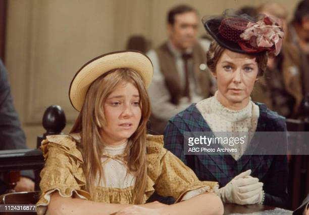 Lisa Eilbacher Vera Miles appearing in the Walt Disney Television via Getty Images series 'Alias Smith and Jones' episode 'The Posse That Wouldn't...