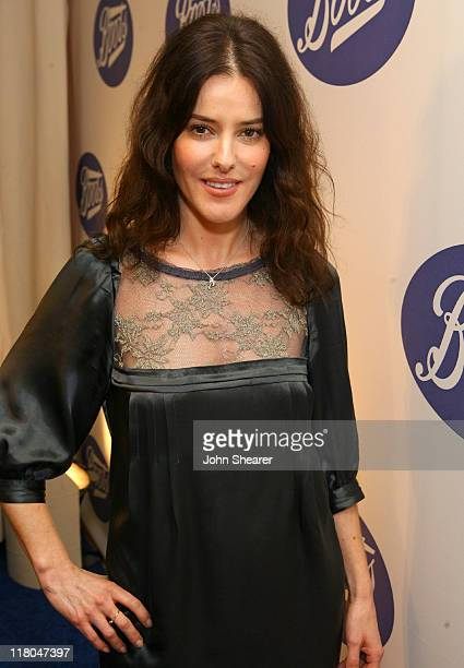 Lisa Eldridge during Boots the UK's Number One Health and Beauty Brand Celebrates Its US Launch Red Carpet at Sunset Tower in Los Angeles California...