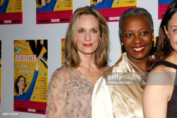 Lisa Emery, Aleta Mitchell and Natalie Gold attend Opening night of DISTRACTED at Laura Pels Theatre on March 4, 2009 in New York City.