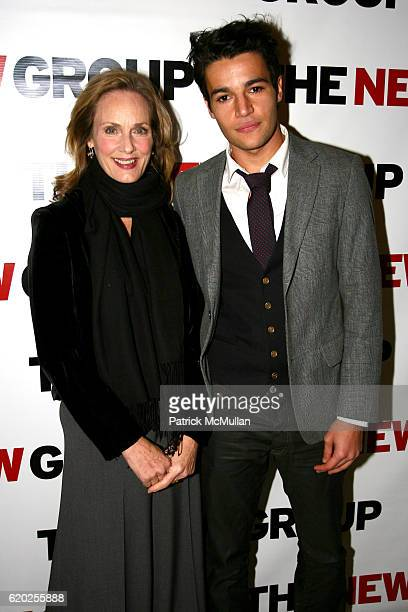 Lisa Emery and Christopher Abbot attend THE NEW GROUP Benefit Evening Honoring ETHAN HAWKE at Pier 60 on November 10 2008 in New York City