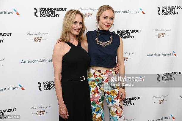 "Lisa Emery and Sarah Goldberg attend ""The Unavoidable Disappearance Of Tom Durnin"" Opening Night at Laura Pels Theatre on June 27, 2013 in New York..."