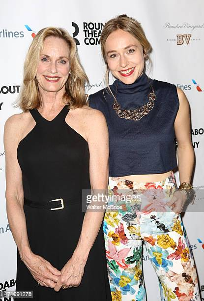 "Lisa Emery and Sarah Goldberg attends ""The Unavoidable Disappearance Of Tom Durnin"" Opening Night at Laura Pels Theatre on June 27, 2013 in New York..."