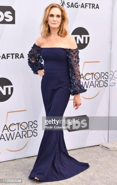 Lisa Emery arrives at The Shrine Auditorium on January 27 2019 in Los Angeles California