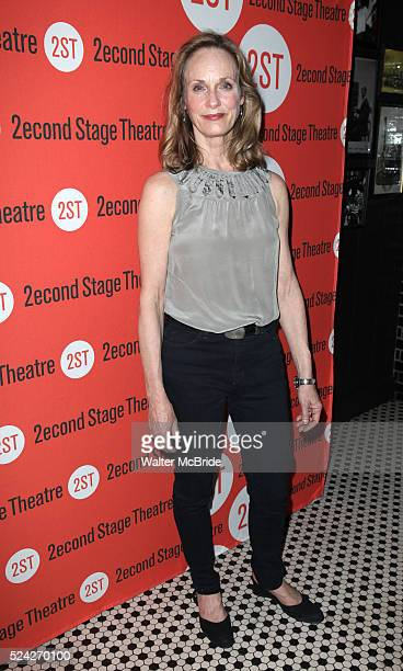 Lisa Emery attending the Off-Broadway Opening Night Performance Party for the Second Stage Theatre's 'Lonely, I'm Not' at HB Burger in New York City...