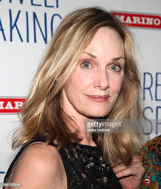 Lisa Emery attending the Opening Night after party for 'Relatively Speaking' at the Bryant Park Grill in New York City.