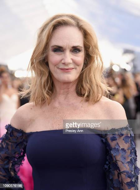 Lisa Emery attends the 25th Annual Screen ActorsGuild Awards at The Shrine Auditorium on January 27 2019 in Los Angeles California