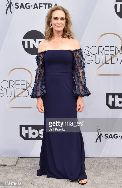 Lisa Emery attends the 25th Annual Screen ActorsGuild Awards at The Shrine Auditorium on January 27, 2019 in Los Angeles, California.