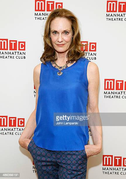 Lisa Emery attends the after party for the Broadway opening night for Casa Valentina at Copacabana on April 23 2014 in New York City