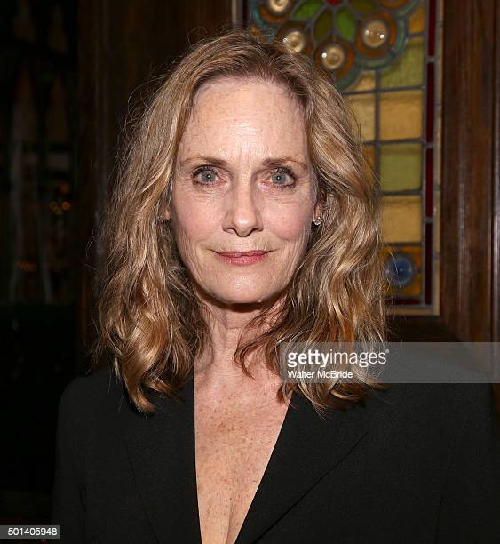 Lisa Emery attends the opening night after party for the Playwrights Horizons New York premiere production of 'Marjorie Prime' at Tir Na Nog Irish...