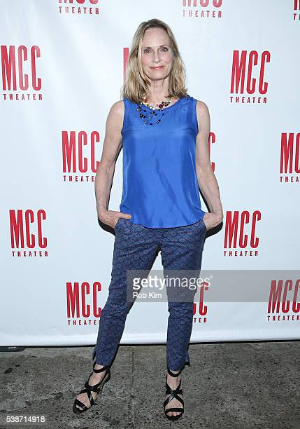 Lisa Emery attends the opening night afterparty for A Funny Thing at SushiSamba 7 on June 7 2016 in New York City