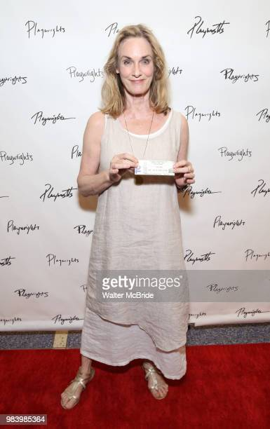 Lisa Emery attends the opening night performance of the Playwrights Horizons world premiere production of 'Log Cabin' on June 25, 2018 at Playwrights...