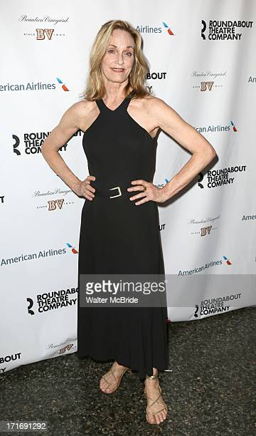 "Lisa Emery attends ""The Unavoidable Disappearance Of Tom Durnin"" Opening Night at Laura Pels Theatre on June 27, 2013 in New York City."