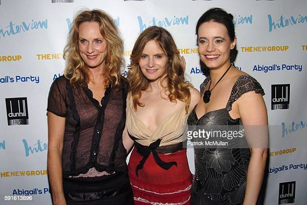 """Lisa Emery, Jennifer Jason Leigh and Elizabeth Jasicki attend INTERVIEW MAGAZINE Afterparty for the Opening Night of the Off Broadway Play """"ABIGAIL'S..."""
