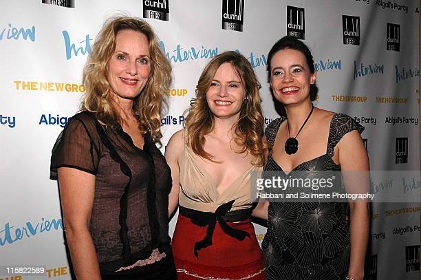 Lisa Emery Jennifer, Jason Leigh and Elizabeth Jasicki