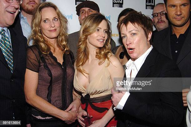 """Lisa Emery, Jennifer Jason Leigh and Holly Loftus attend INTERVIEW MAGAZINE Afterparty for the Opening Night of the Off Broadway Play """"ABIGAIL'S..."""