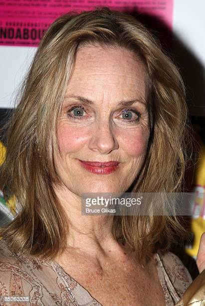 Lisa Emery poses at the opening night Distracted at the Roundabout Theatre Company's Laura Pels Theatre on March 4 2009 in New York City