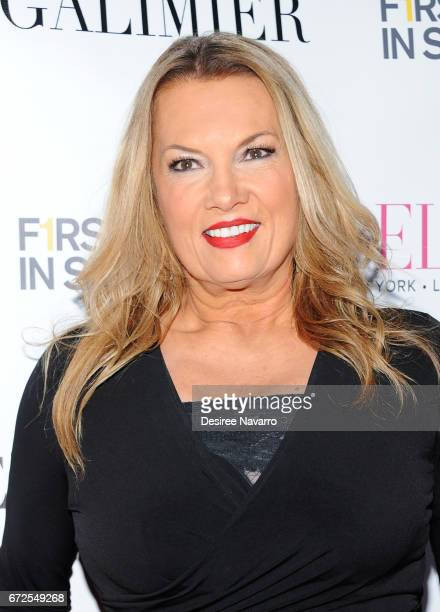 Lisa Evers attends BELLA New York Spring Issue Cover Party hosted by Kelly Osbourne at Bagatelle on April 24 2017 in New York City