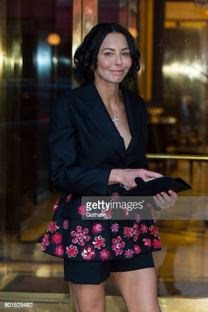 Lisa Falcone attends a dinner honoring Anna Wintour on June 26 2017 in New York City