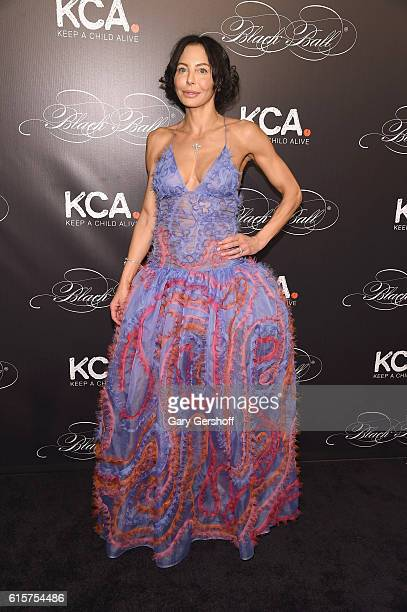 Lisa Falcone attends the Keep a Child Alive's 13th Annual Black Ball at Hammerstein Ballroom on October 19 2016 in New York City