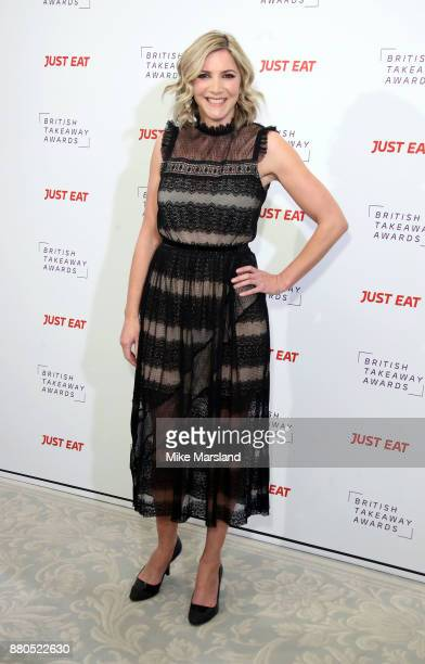 Lisa Faulkner attends The British Takeaway Awards at The Savoy Hotel on November 27 2017 in London England