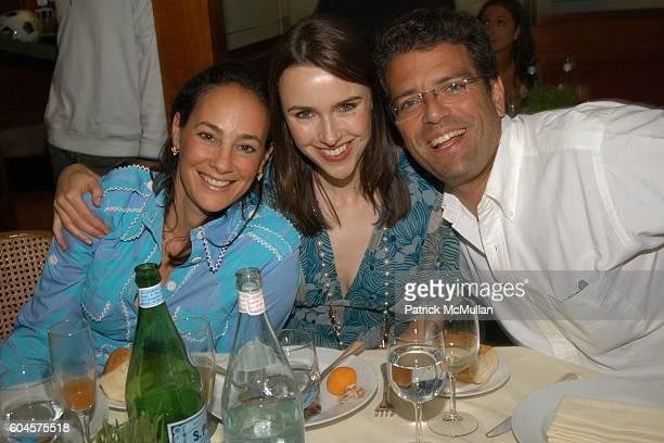Lisa Fields Tara Hannert and Lorenzo Lorenzotti attend Euan Rellie hosts GQ Magazine/ Salvatore Feragamo party to celebrate the US vs Italy World Cup...