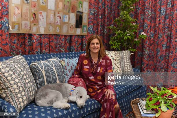 Lisa Fine attends ARF Thrift Shop Designer Show House and Sale at ARF Thrift Treasure Shop on May 27 2017 in Sagaponack New York