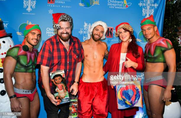 Lisa Foxx attends the Children's Hospital of Los Angeles Christmas In September Toy Drive at The Abbey on September 24 2019 in West Hollywood...