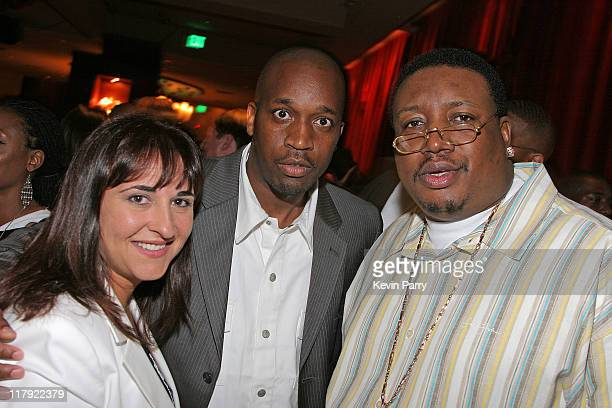 Lisa Fusco Big Theo and E40 during And1 Mixtape Tour Volume 9 Premiere After Party at White Orchid in Hollywood California United States