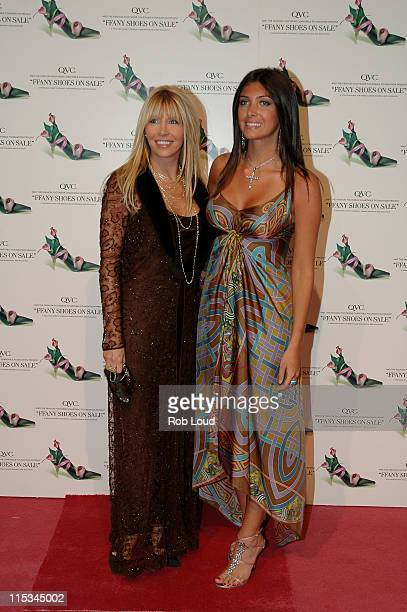 Lisa Gastineau and Brittny Gastineau during QVC Presents the 12th Annual FFANY Shoes on Sale Breast Cancer Event at Pier 94 in New York City New York...