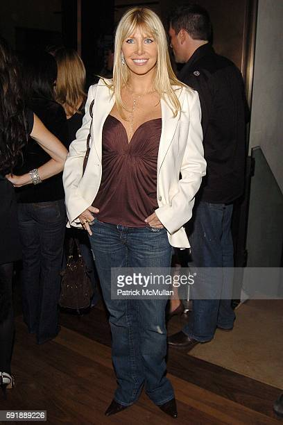 "Lisa Gastineau attends Party for DONNY DEUTSCH and PETER KNOBLER's new book, ""Often Wrong, Never In Doubt"" at The Chambers Hotel on October 11, 2005..."
