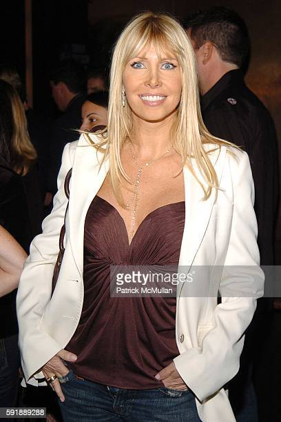 Lisa Gastineau attends Party for DONNY DEUTSCH and PETER KNOBLER's new book Often Wrong Never In Doubt at The Chambers Hotel on October 11 2005 in...