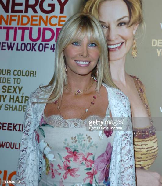 Lisa Gastineau during The Winners of the 6th Annual More Magazine Wilhelmina 40 Model Search at Cipriani in New York City New York United States