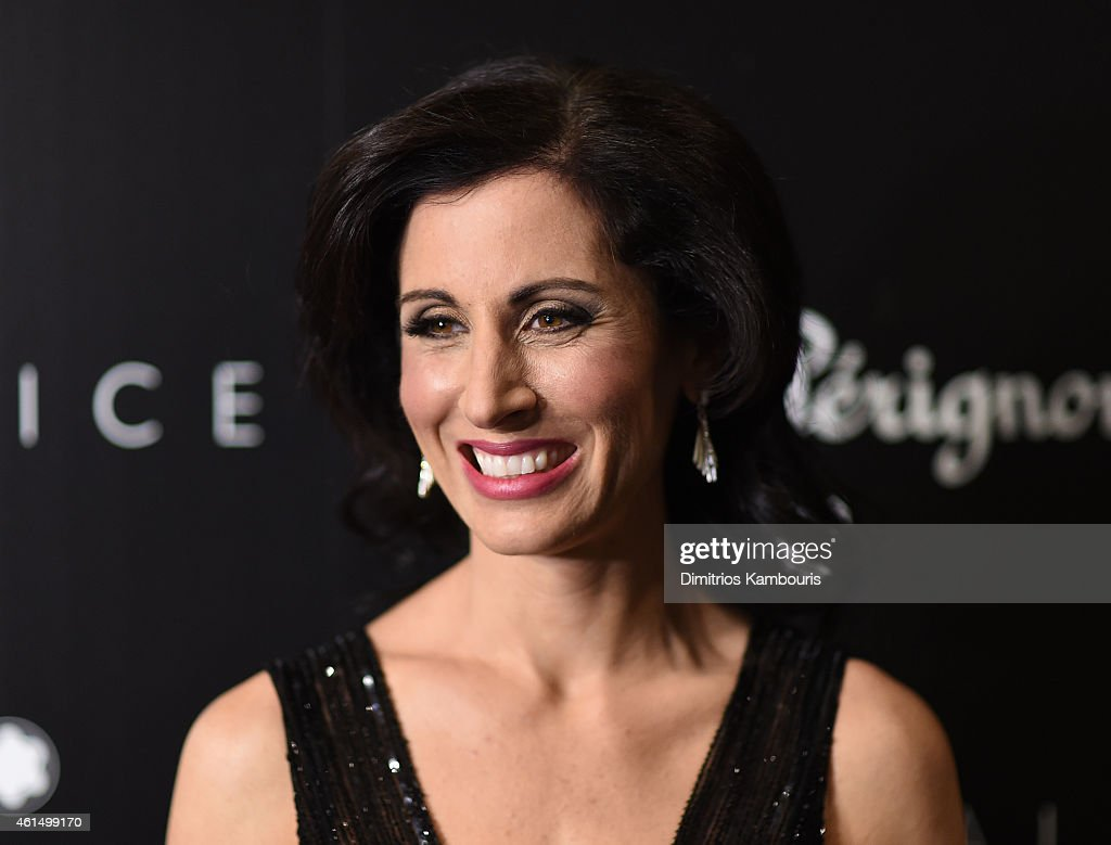 Lisa Genova attends The Cinema Society with Montblanc and Dom Perignon screening of Sony Pictures Classics' 'Still Alice' at Landmark's Sunshine Cinema on January 13, 2015 in New York City.