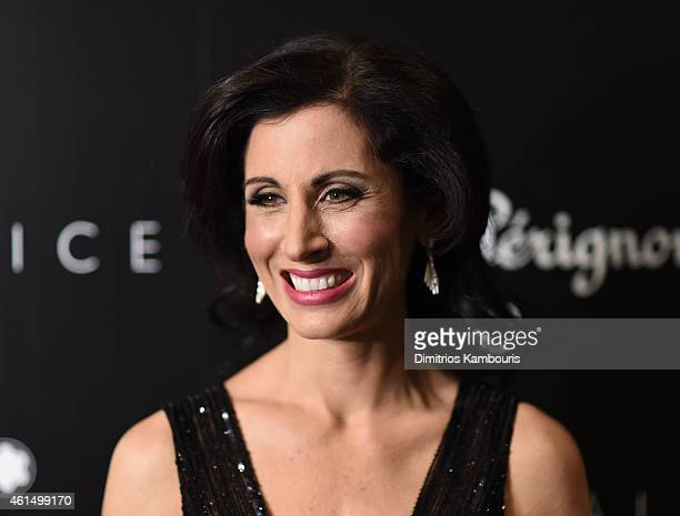 Lisa Genova attends The Cinema Society with Montblanc and Dom Perignon screening of Sony Pictures Classics' Still Alice at Landmark's Sunshine Cinema...